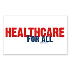 Healthcare for All Rectangle Decal