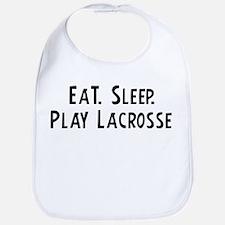 Eat, Sleep, Play Lacrosse Bib