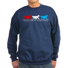 Golden Retriever Golden Gait RWB Sweatshirt