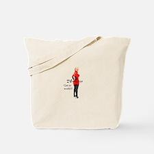 Unique Blonde humor Tote Bag
