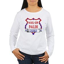 Women's Palin 2012 Long Sleeve T-Shirt