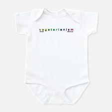 Vegetarianism: Simple - Delic Infant Bodysuit