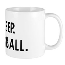 Eat, Sleep, Play Kickball Mug