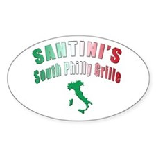 South Philly Grille Oval Decal