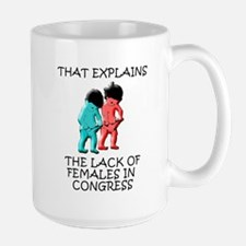 That Explains The Lack Of Females In Congress Larg