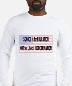 School for Education Long Sleeve T-Shirt