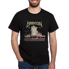 Baboon Rising F.A.T. Black T-Shirt