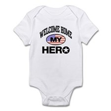 Welcome Home My Hero Infant Creeper