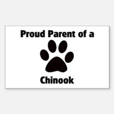 Proud: Chinook Rectangle Decal