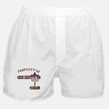 Property of 4 Hymn - Deep Blue Boxer Shorts