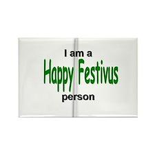 I am a Happy Festivus person! Rectangle Magnet