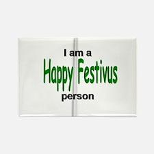 I am a Happy FESTIVUS™ person! Rectangle Magnet