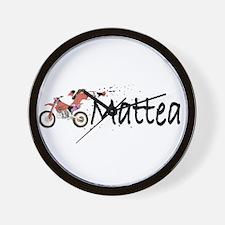 Mattea Wall Clock