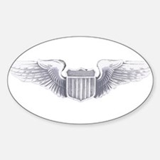 USAF Wings Oval Decal