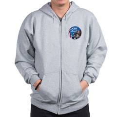 Fighting Falcon Zip Hoodie