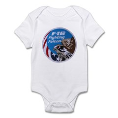 Fighting Falcon Infant Bodysuit