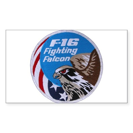 Fighting Falcon Rectangle Sticker