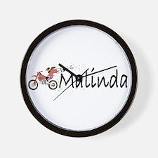 Malinda Wall Clock