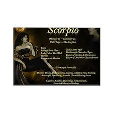 Goddess Scorpio Rectangle Magnet