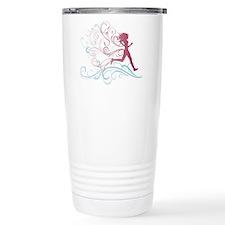 Running Girl Thermos Mug