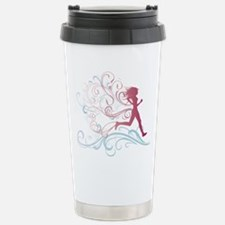 Running Girl Travel Mug