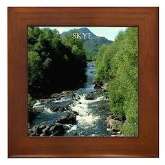 Skye Scotland Framed Tile