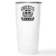 Greece Travel Mug