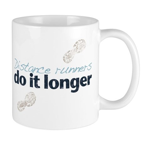 Distance Runners Do It Longer Mug