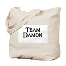 Cute Damon salvatore Tote Bag