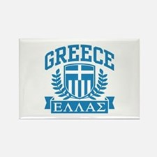 Greece Rectangle Magnet