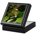 Glass Wing Butterfly Keepsake Box