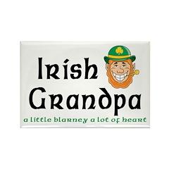 Irish Grandpa Rectangle Magnet (100 pack)