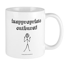 Inappropriate Outburst! Mug