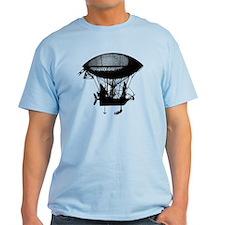 Steampunk pirate airship T-Shirt