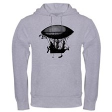 Steampunk pirate airship Hoodie