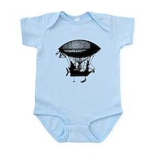 Steampunk pirate airship Infant Bodysuit