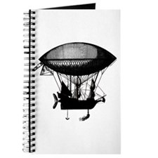 Steampunk pirate airship Journal
