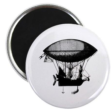 Steampunk pirate airship Magnet