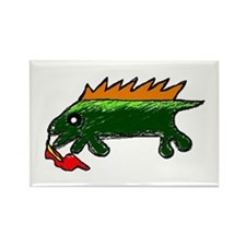 Funny Dragon pictures Rectangle Magnet