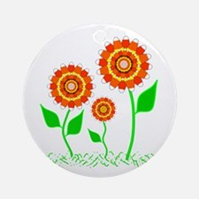 Candy Cornflowers Ornament (Round)