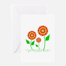 Candy Cornflowers Greeting Card