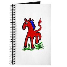 Cute Morgan horses Journal