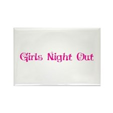 Girls night out Rectangle Magnet (10 pack)