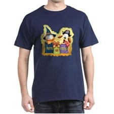 Garfield Trick or Treat Dark T-Shirt