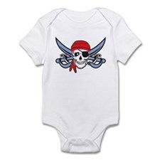 Pirate Skull Infant Bodysuit
