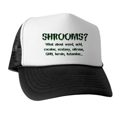 SHROOMS? Trucker Hat