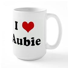 I Love Aubie Mug