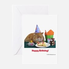 Santa Meow Greeting Cards (Pk of 10)