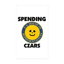 THEY'RE SPENDING YOUR MONEY Rectangle Sticker 10