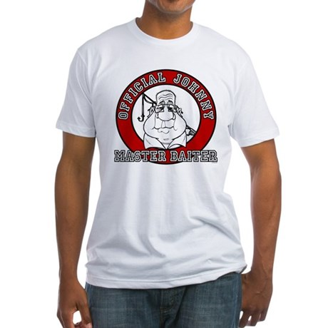 Master Baiter Official Johnny Fitted T-Shirt